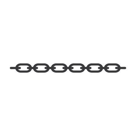 chain steel vector icon illustration design template Archivio Fotografico - 147903137