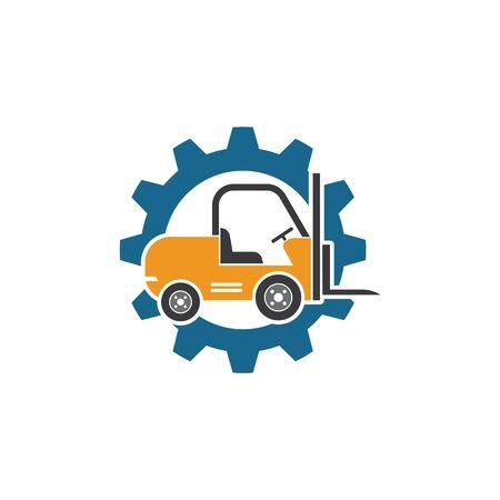 forklift icon vector illustration design template 일러스트