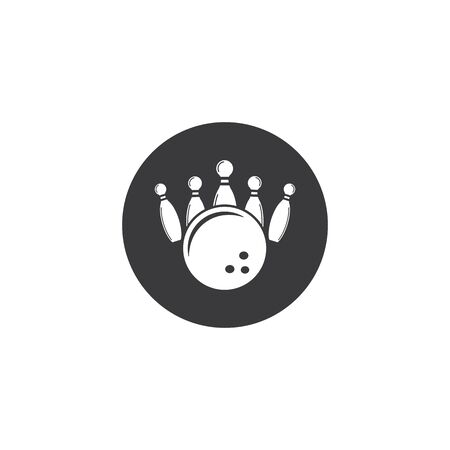 bowling vector icon illustration design template 일러스트
