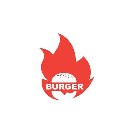 burger icon vector illustration design template