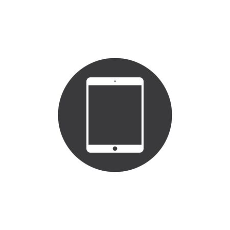 tablet device icon vector illustration design template