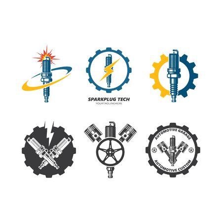 sparkplug icon vector illustration design