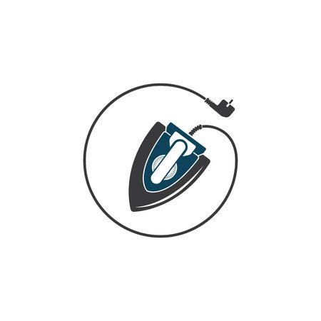 iron vector icon illustration design  イラスト・ベクター素材