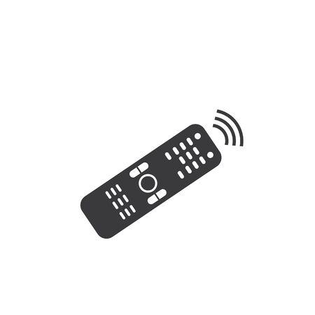 Remote-TV-Symbol Vektor-Illustration Design
