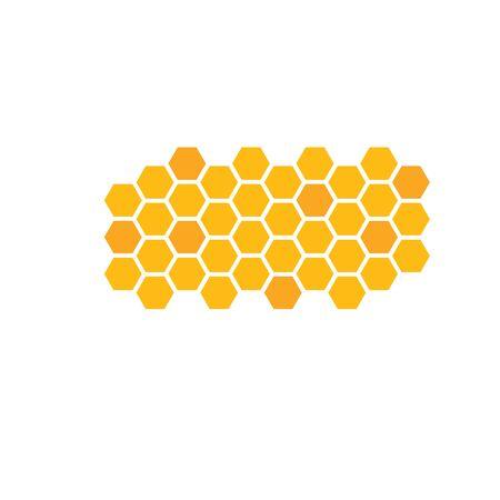 honey comb vector icon illustration design  向量圖像