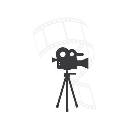film recorder vector icon illustration design template