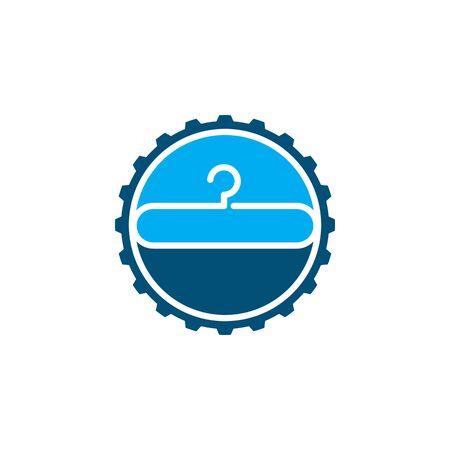hanger logo icon vector illustration design template