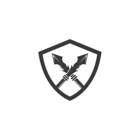spear icon vector illustration design template 일러스트