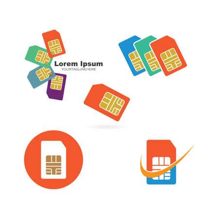 simcard icon vector illustration design