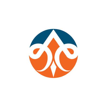 fleur de lis icon vector illustration design template