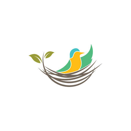 nest icon vector illustration design template