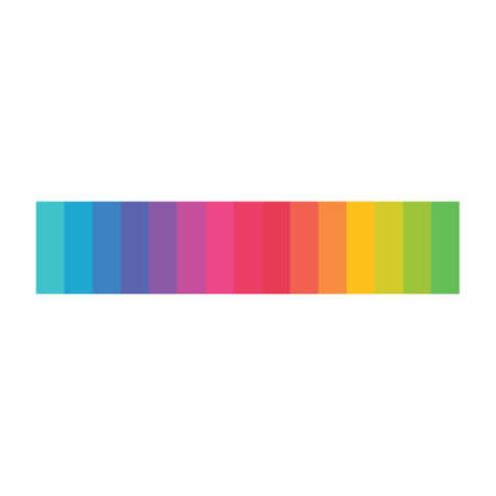 color pallete vector icon design template Stock Illustratie