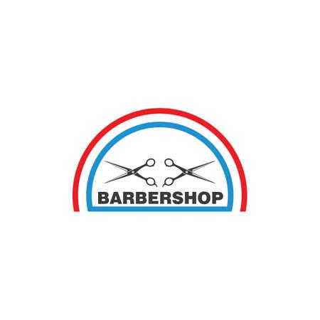 barber shop icon  vector icon template Illusztráció