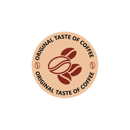 Coffee Beans Logo Template vector icon design