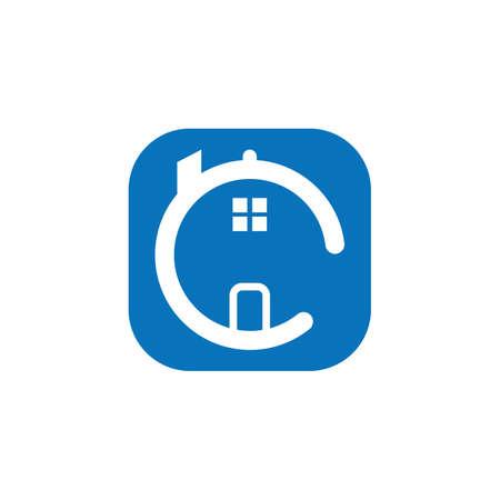 house  logo icon vector illustration design Illustration