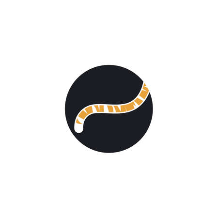 tiger tail icon vector illustration design template