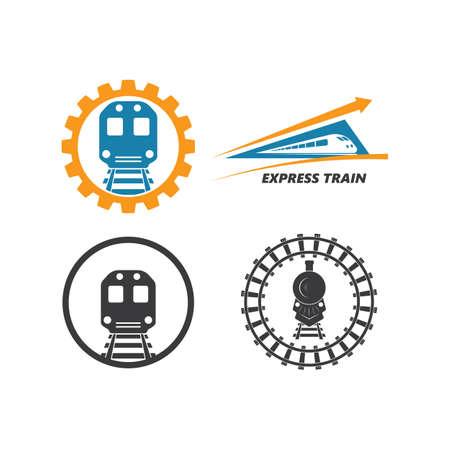train vector icon illustration design template