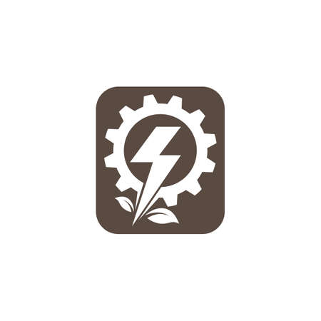 electrical service and installation  icon vector design