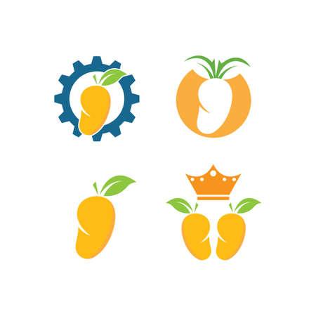 mango fruit vector illustration design  icon