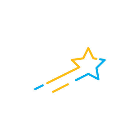 star vector  icon illustration design  design Reklamní fotografie