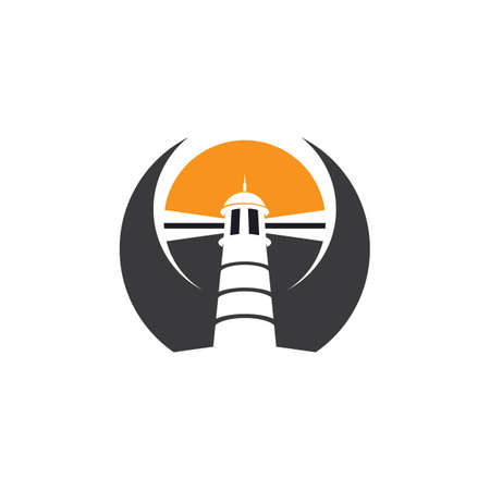 lighthouse vector illustration design template Ilustrace