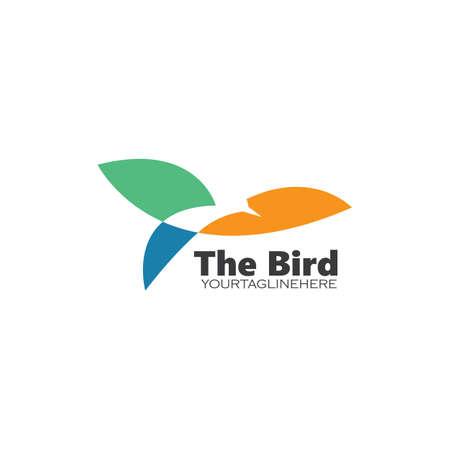 bird vector illustration design template Ilustrace
