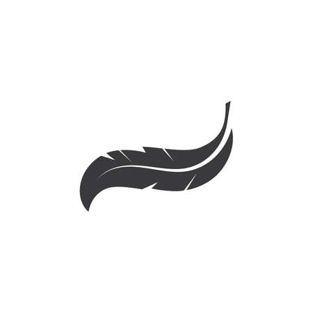 feather icon illustration vector template design