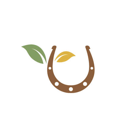 horse shoe  icon vector illustration design