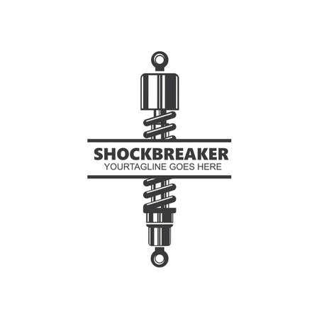 shock absorber icon vector illustration design template
