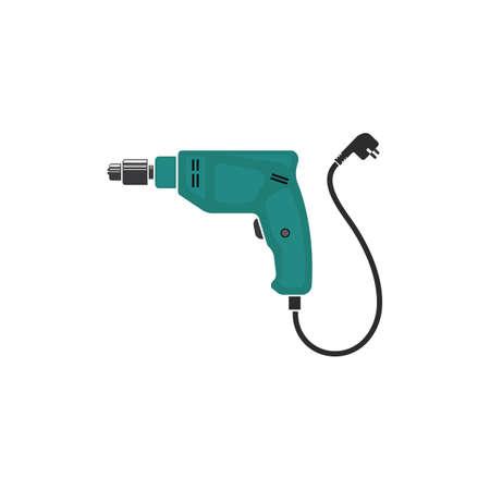 drill machine icon vector illustration design template