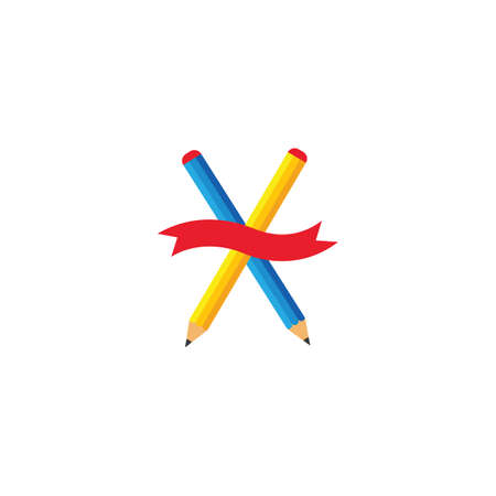 pencil vector illustration icon of education design template web