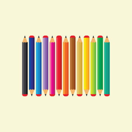 pencil background vector illustration icon of education design template web