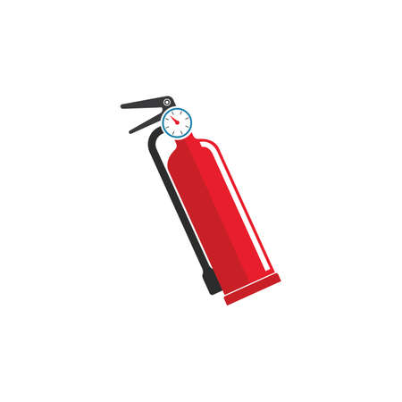 fire extinguisher vector icon illustration design template web 스톡 콘텐츠 - 165492844