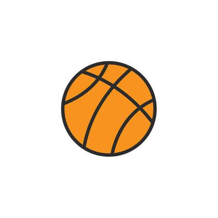 basket ball icon vector illustration design template web