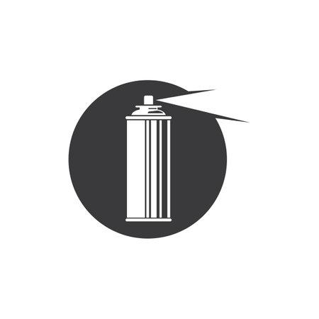paint spray bottle icon vector illustration design template web