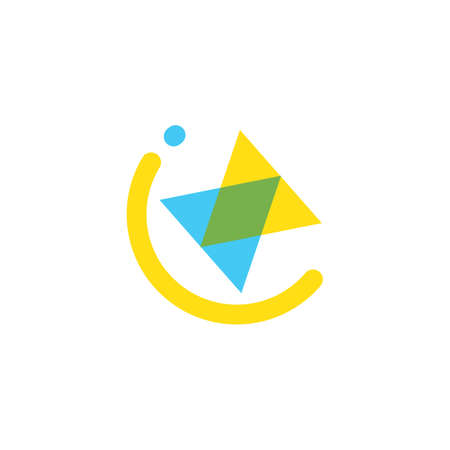 play button icon vector illustration design template 일러스트