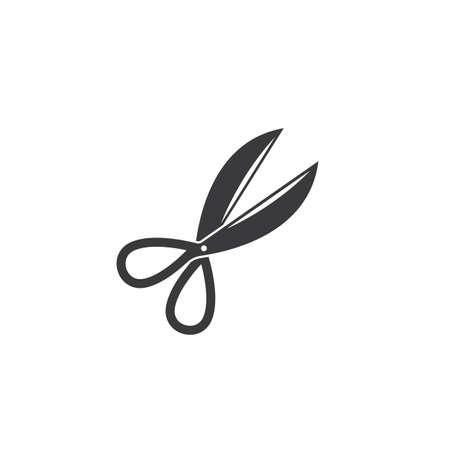 scissor icon vector illustration design template