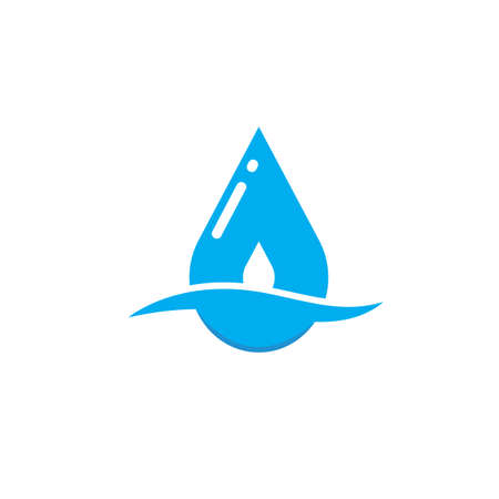 water drop icon  vector illustration design template