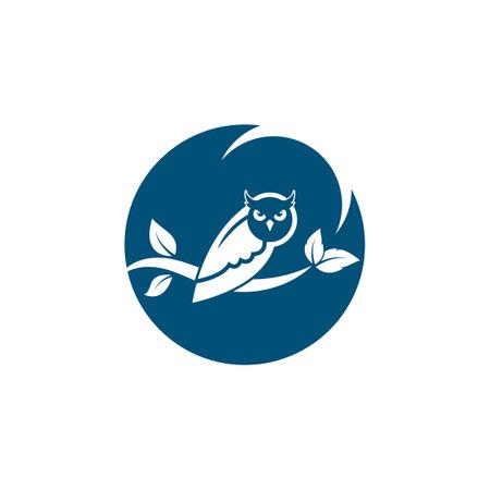 owl icon vector illustration design 矢量图像