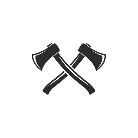 axe icon vector illustration design template web