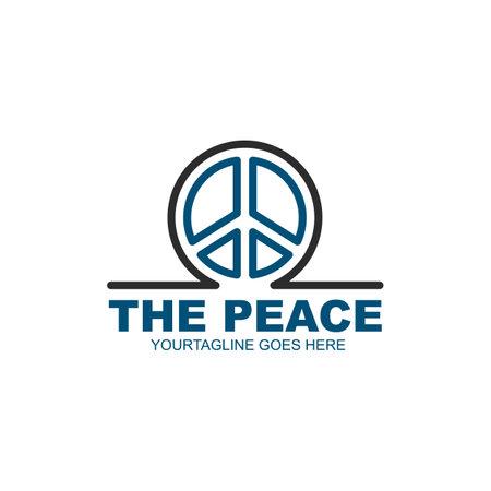 peace icon vector illustration design template web 矢量图像