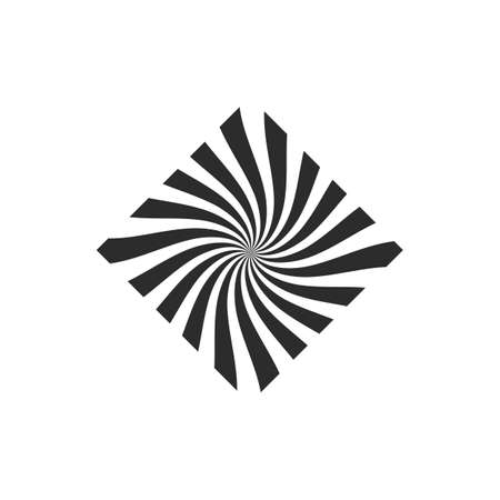 vortex and spiral icon vector illustration design template