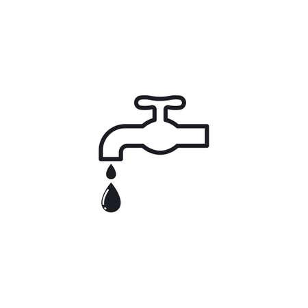 faucet  icon vector design template Vettoriali