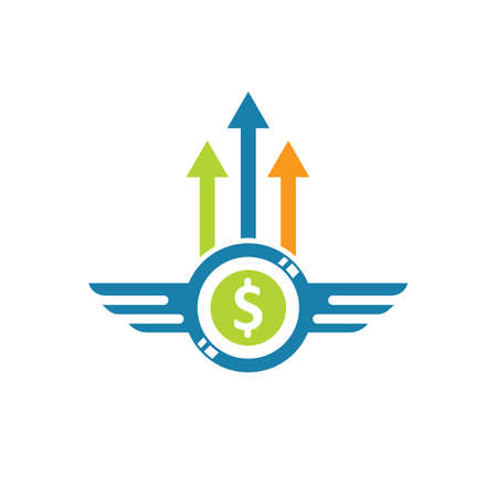 finance business icon vector illustration design template web Vettoriali