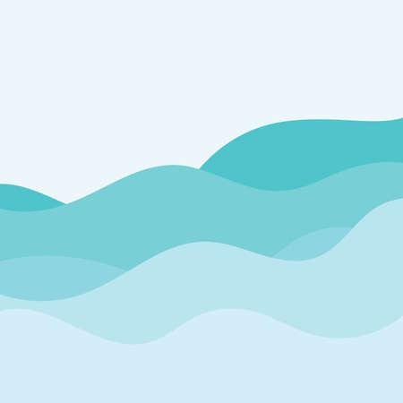 wave background vector illustration  design  template