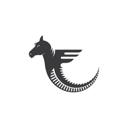 Horse icon  Template Vector illustration design