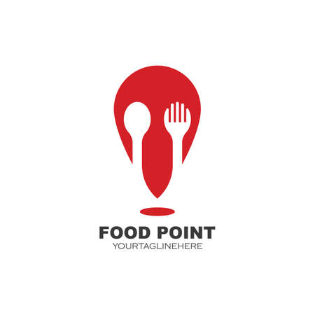 food point   icon vector illustration design template
