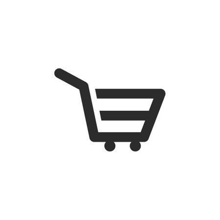 shopping basket icon vector illustration design template 向量圖像