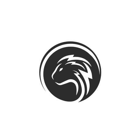 fox  icon vector illustration design template