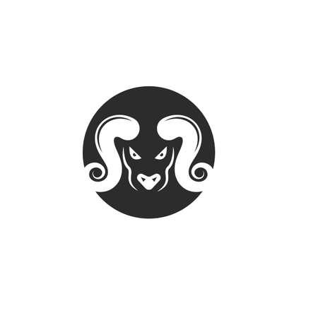Devil icon  vector illustration design template Illustration